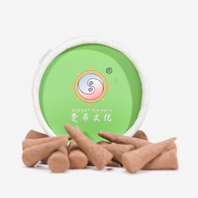 【中華特色館】西藏館 藏素香牌 楚布文化藏香 助睡眠塔香盒