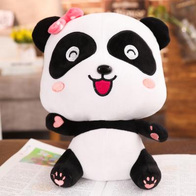 寶寶巴士奇奇妙妙公仔玩具 熊貓公仔毛絨玩偶 布娃娃兒童生日 妙妙(坐姿款) 23cm
