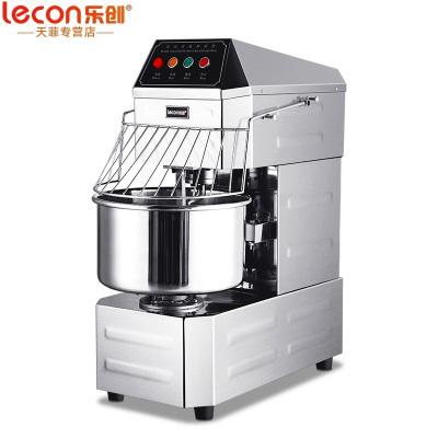 樂創(lecon) 和面機商用 20升雙動雙速和面機全自動攪拌機 廚師機打蛋器面點機 220V