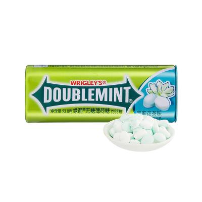 绿箭(DOUBLEMINT) 糖果 茉莉花茶味35粒23.8g
