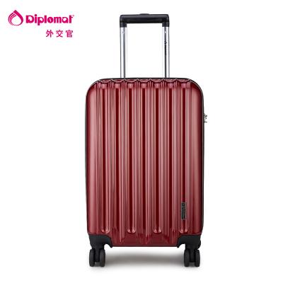Diplomat брэндийн аялалын чемодан TC-618 20 инч хүрэн улаан