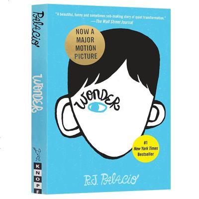 正版 Wonder 奇跡男孩 英文原版小說 R.J. Palacio 帕拉秋 英文版青春勵志青少年讀物 當代文學