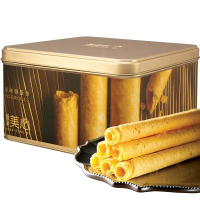 香港美心原味雞蛋卷448g禮盒 零食小吃禮盒鐵盒休閑送禮糕點