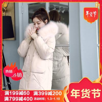 佐露絲RALOS2020冬季外套小个子棉衣女韩版宽松学棉服女款女装潮