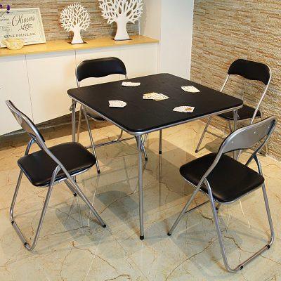 HOTBEE 折叠麻将桌 简易棋牌桌 家用麻将台 摆摊桌子