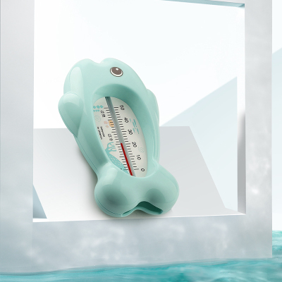 babycare婴儿水温计 儿童宝宝洗澡测水温表新生儿家用洗澡温度计 浅嗬绿 3709