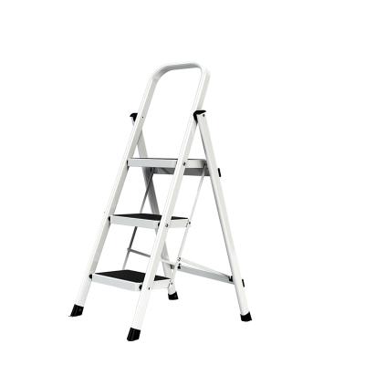 奥鹏梯子家用折叠梯人字梯加厚室内移动楼梯伸缩梯步梯多功能扶梯 三步梯