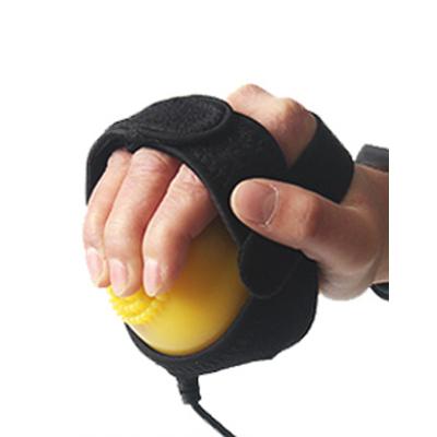 康伊家電動手部按摩器熱敷球中風偏癱手部康復按摩器材高頻振動手指按摩儀