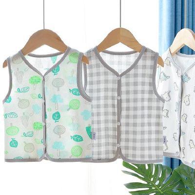 寶寶夏天馬甲純棉薄款嬰兒網眼鏤空小背心開衫外穿夏季洋氣坎肩 娜蜜雨(NAMIYU)