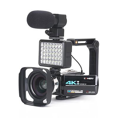 4800萬像素KOMERY 4K夜視數碼攝像機 Wi-Fi高清相機