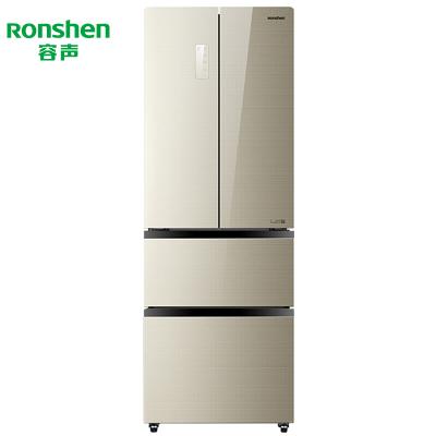 【99新】容聲 322升法式多門矢量變頻風冷無霜 電腦溫控冰箱 BCD-322WKM1MPCA 金色