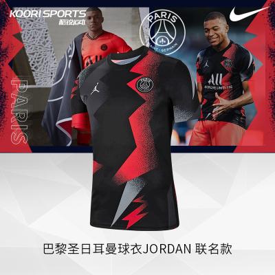 Nike耐克PSG SS PM巴黎圣日耳曼足球球衣Jordan 聯名款BV6100-011