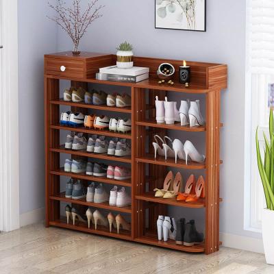佳家林简易鞋架多层组装经济型家用鞋柜多功能鞋架子省空间收纳置物架