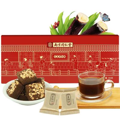 王锦记同仁堂 红糖姜茶 礼盒单独小袋包装 红糖姜块大姨妈茶 350g/盒