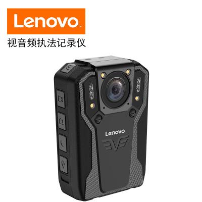 聯想(Lenovo)DSJ-5H執法記錄儀1296P高清紅外夜視64G黑色專業微型便攜音視頻現場執法儀