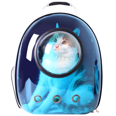 避光猫包宠物外出包透明全景包便携双肩背包太空舱猫笼子猫咪用品