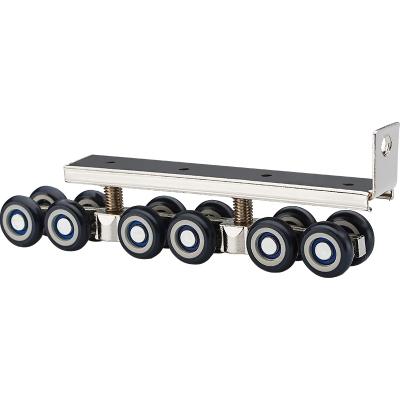 定做 五金配件實木門移門軌道滑輪 吊輪滑軌 推拉門吊滑輪吊軌滑輪12輪