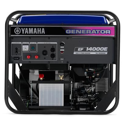 YAMAHA 雅馬哈汽油發電機 EF14000E單相四沖程電啟動鐵路工程220V雙缸10KW