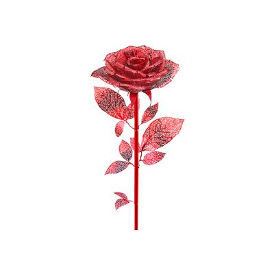 拼酷 金枝玫瑰 3D立體拼圖 紅