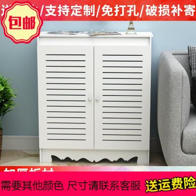 地暖分水器遮挡柜防水暖气片遮挡箱地热阀罩燃气盒弱电表箱装饰