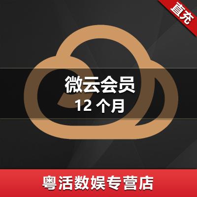 騰訊微云會員12個月月卡 qq微云會員vip十二個月 微云vip會員十二個月 自動充值