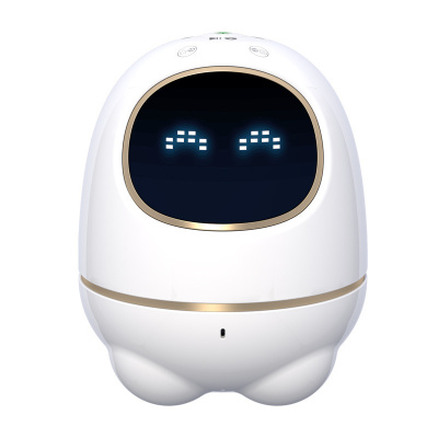 科大訊飛機器人iFLYTEK 阿爾法蛋小蛋智能機器人兒童學習早教玩具國學教育WIFI語音智能對話陪伴機器人 白色