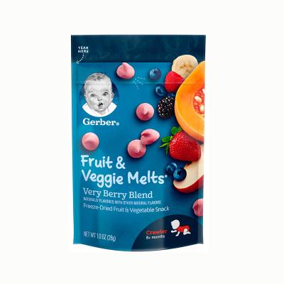 Gerber嘉宝混合浆果味溶豆 28g 儿童零食 溶豆 三段 8个月以上