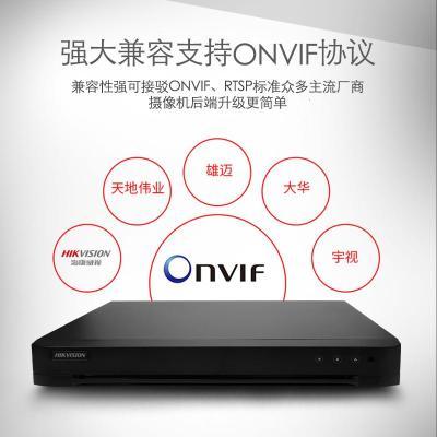 網絡硬盤錄像機 DS-7824HQH-K2 24路同軸模擬網絡三合一混合硬盤錄像機