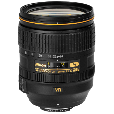 【二手95新】尼康/Nikon AF-S 尼克爾 24-120mm f/4G ED VR 金圈鏡頭
