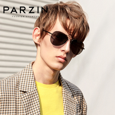 帕森太陽鏡男士潮流偏光太陽眼鏡開車駕駛墨鏡時尚炫彩蛤蟆鏡8023A