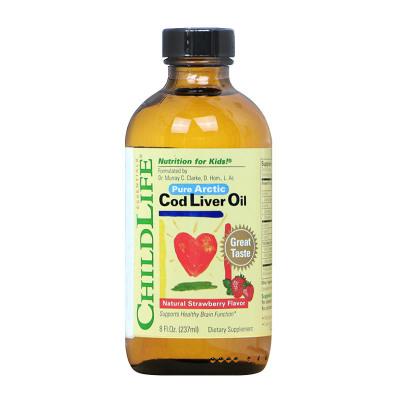 童年時光 鱈魚肝油 237ml 瓶裝 原裝進口 6個月以上
