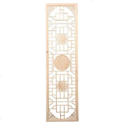 ONEVAN東陽木雕實木中式花格雕花板背景墻鏤空客廳屏風玄關隔斷仿古窗