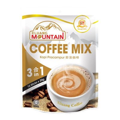 Cap Televisyen 电视机牌 南山即溶咖啡 3合1 200g 袋装 马来西亚原装进口 原味咖啡 速溶咖啡