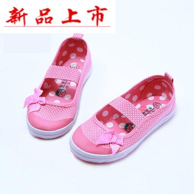 因樂思(YINLESI)青島環球兒童鞋 兒童舞蹈鞋男女童小白鞋童鞋帆布鞋體鞋白球鞋
