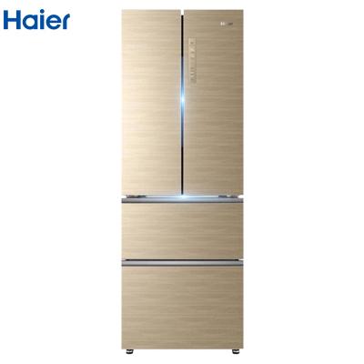 海爾(Haier) BCD-331WDGQ 法式多門 一級能效 無霜殺菌觸屏智控 331L冰箱家用