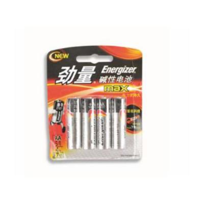 勁量 Energizer E91 BP4 勁量堿性電池5號,4節卡裝