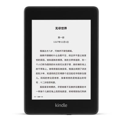 Kindle亚马逊Paperwhite34电子书经典版墨水屏入门漫画版电子书 Paperwhite4 6英寸黑色32GB