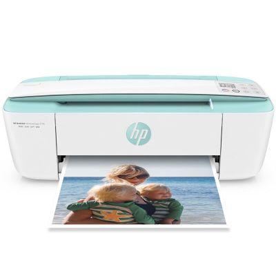 惠普(HP) DJ3776 惠省系列彩色噴墨打印機家用迷你多功能打印機一體機(無線打印 復印 掃描)