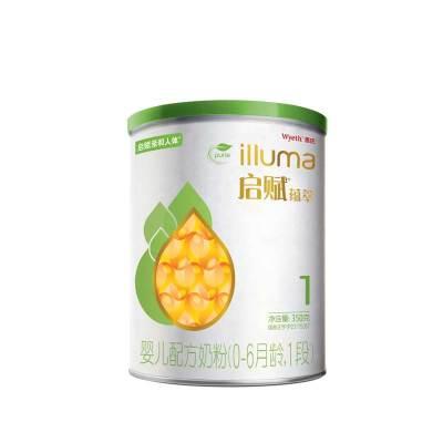 惠氏启赋有机婴儿配方奶粉1段350g