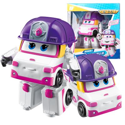 奥迪双钻(AULDEY)超级飞侠 男孩女孩儿童玩具 变形机器人-小柔730223