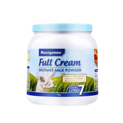 Maxigenes美可卓 澳洲進口奶粉藍胖子全脂成人奶粉高鈣青少年中老年學生成人牛奶粉1kg/罐 1罐裝