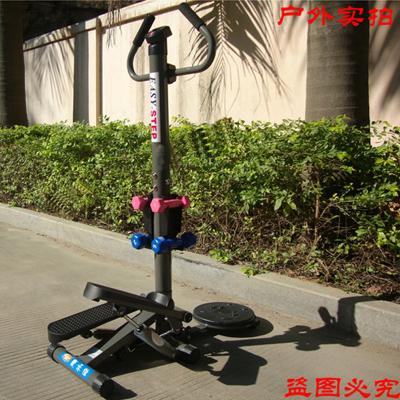 康乐佳踏步机KLJ-306C液压无声KLJ-303带扶手多功能室内登踏运动