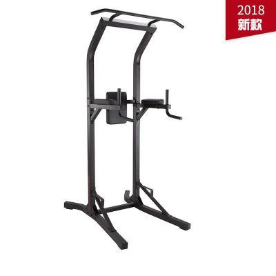 迪卡侬 引体向上器家用多功能单双杠架体育用品健身器材家用 CRO[定制] 2018新款黑色