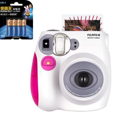 【套餐】富士(FUJIFILM)instax mini7s 粉色相机+金霸王5号电池4粒装