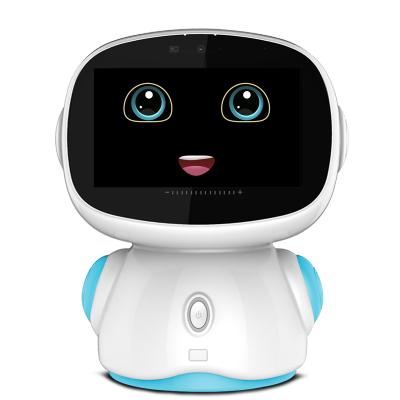智力快车 金小帅儿童智能机器人5.0第五代学习机3-6-12岁教育陪伴早教语音对话小胖 A9蓝色32GWIFI版