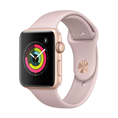 【二手95新】苹果/Apple iWatch Sport Series2 二代 S2 智能手表 GPS版 粉色 38mm