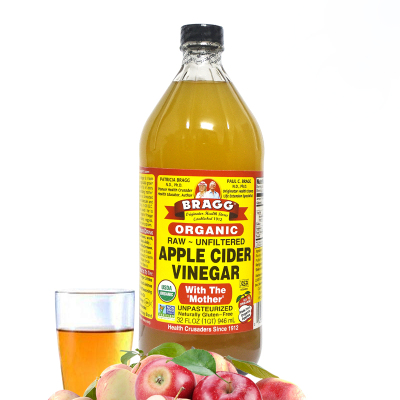 现货美国进口Bragg organic apple cider vinegar苹果醋946ml