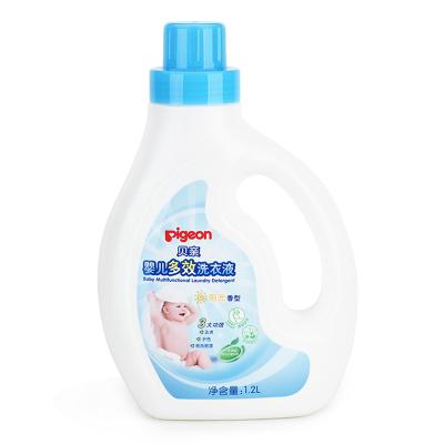 贝亲(PIGEON)婴儿多效洗衣液(阳光香型)1.2LMA55