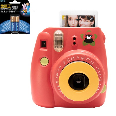 【套餐】富士(FUJIFILM)INSTAX 一次成像相机 MINI8 相机 熊本熊 红色+金霸王5号电池2粒装