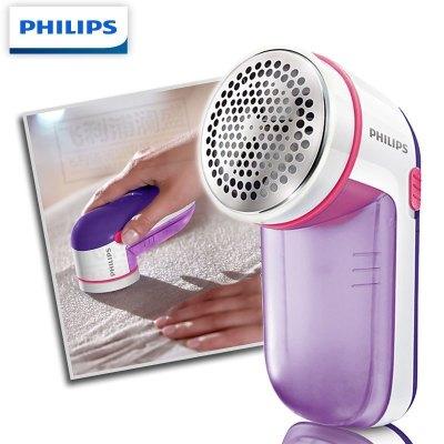 飞利浦(Philips) 毛球修剪器 去球器 剃毛球器衣服去除剪毛器 天蓝GC026/30-干池式紫色